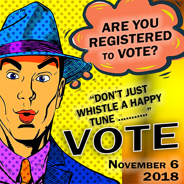 """Are you registered to VOTE?"" meme by the Gaia Capitalist.""Are you registered to VOTE?"" meme by the Gaia Capitalist."